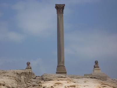 エジプト 9日目 ポンペイの柱 1.jpg