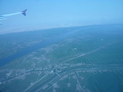 エジプト 2日目 機内からの景色.jpg