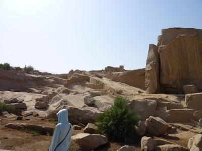 エジプト 5日目 アスワン石切り場 1.jpg