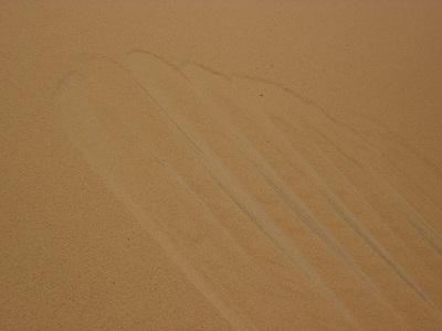 エジプト 6日目 砂漠の砂 2.jpg